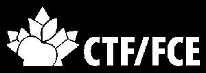 CTF/FCE Horizontal White Logo
